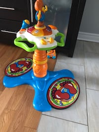 Sit to stand dancing tower. Great toy to help baby learn to sit up