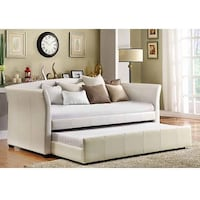 BEAUTIFUL LEATHER DAYBED WITH TRUNDLE & FREE DELIVERY TORONTO