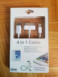 4 in 1 Cable - For Apple & Android Calgary, T3J 3J7