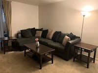 Sectional/Couch with Coffee & End tables plus lamp Upper Marlboro, 20772