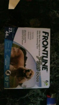 Frontline Plus for dogs 6pk. There are 7. Take all Hagerstown, 21740