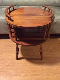 Old Wood Side Table