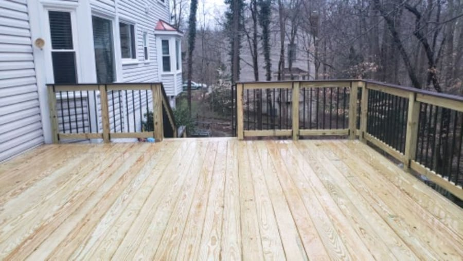 Deck and fence,free estimate .in virginia. 7