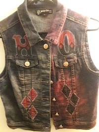 Custom Made Women's Harley Quinn Vest ASHBURN