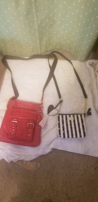 Both Betsy Johnson Purse and red purse Ames, 50014