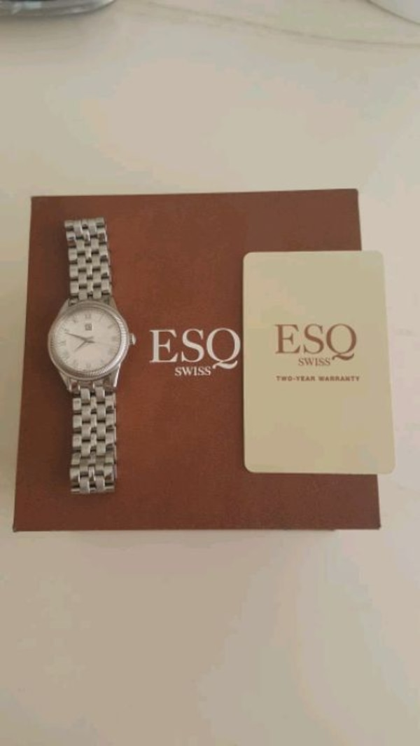 ESQ by Movado, Harrison, Women's Watch, Stainless  668348b1-9172-445b-984a-91a9410af381