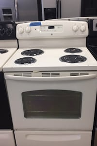 GE electric stove 4 months warranty