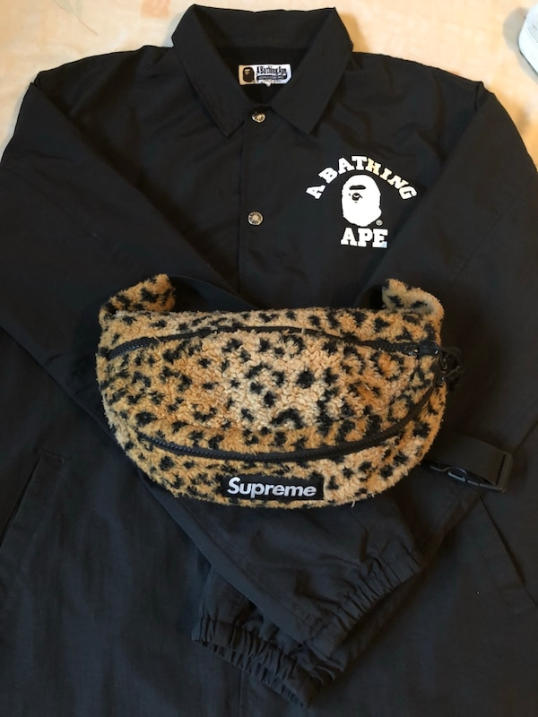 a6c863090694 Used Supreme Fanny Pack and Bape jacket for sale in New York - letgo
