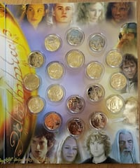RARE LORD OF THE RINGS COINS 2004