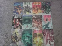 DC Comics - JUSTICE 1-12 Limited Series Comic - ALEX ROSS Art