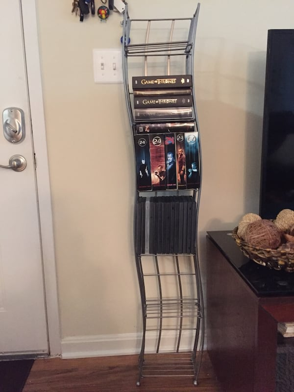 Metal DVD/CD/Small Book Tower 2