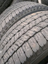 2 used lt265/60R20 tires