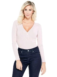 GUESS long sleeve zip down top  Brampton, L6T 4E2