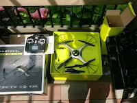 New black and yellow quadcopter with box Schenectady, 12304