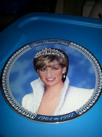 Princess Diana plate Hagerstown