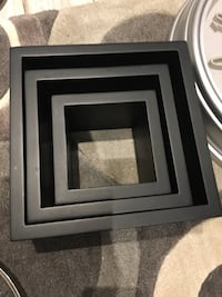 Black square cube wall set  Markham, L6B 1A8