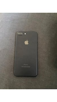 Black iphone 7 plus with case Mississauga, L5N 2S9