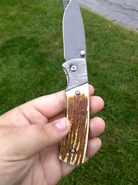 brown, white and gray pocket knife Des Moines, 50312