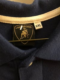 Knit shirt with Lamborghini logo XXL 25 km