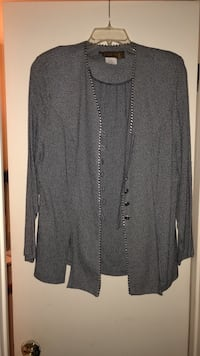 gray long-sleeved shirt Laurel, 20707