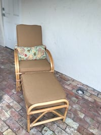 Vintage bamboo chase lounger  Palm Beach, 33480