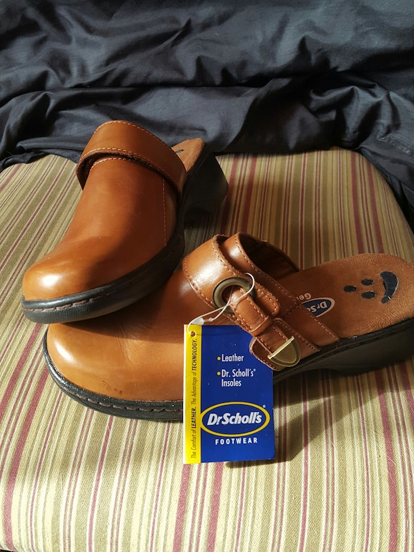 DrScholl's Nwt Brown Leather Shoes QrtdhsC