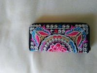 black, pink, and blue floral wallet Mount Bethel, 18343