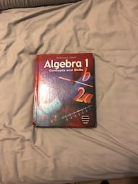 Algebra 1 concept and skills hard textbook