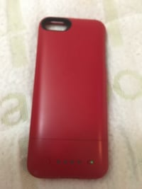 Red iPhone 5 5s SE charging case Kitchener, N2C 2K1