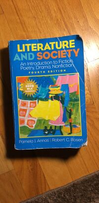 Literature And Society 4th Edition  Haworth, 07641