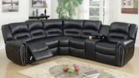 black sectional new in box  Fresno, 93728
