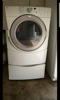 white front-load clothes dryer  Monrovia, 21770