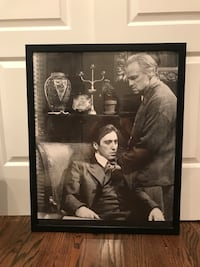 Godfather Framed Picture in Excellent Condition