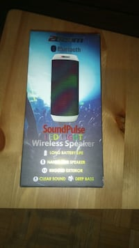 Bluetooth Speaker w/lights-BNIB