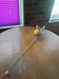 Bart Simpson fishing pole