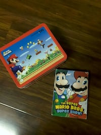 Vintage Mario bros lunch box and movies Bellflower, 90706