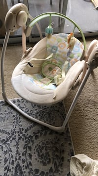 In genuity Soothe 'n Delight Portable Swing, Sunny Snuggles Fairfax, 22030