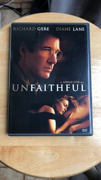 Unfaithful DVD Movie
