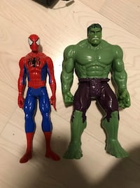 Hulk og spideman figurer Oslo, 0767