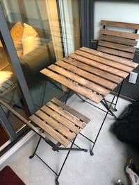 Small Patio Table with Two Chairs Vancouver, V6J 0C8
