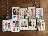 Clothing patterns for home sewing