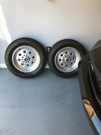 Fourgray 5-lug auto wheels with tires New Orleans, 70127