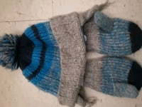 Children's place hat and gloves 4t-5t London, N5Z 3T1