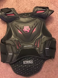 Icon vest pink and black
