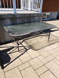 Patio table glass top...8ft long Montréal, H1R 2H9
