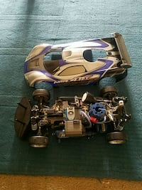 white and blue RC car Laurel, 20708