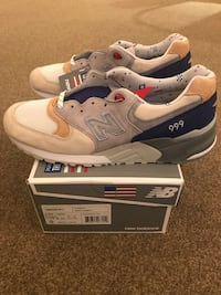 cb1a41d912b Concepts X New Balance Kennedy M999CP1 (Grey/Blue) - 10.5 San Francisco,