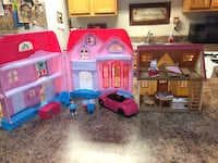 Calico critters, house Sioux Falls, 57103