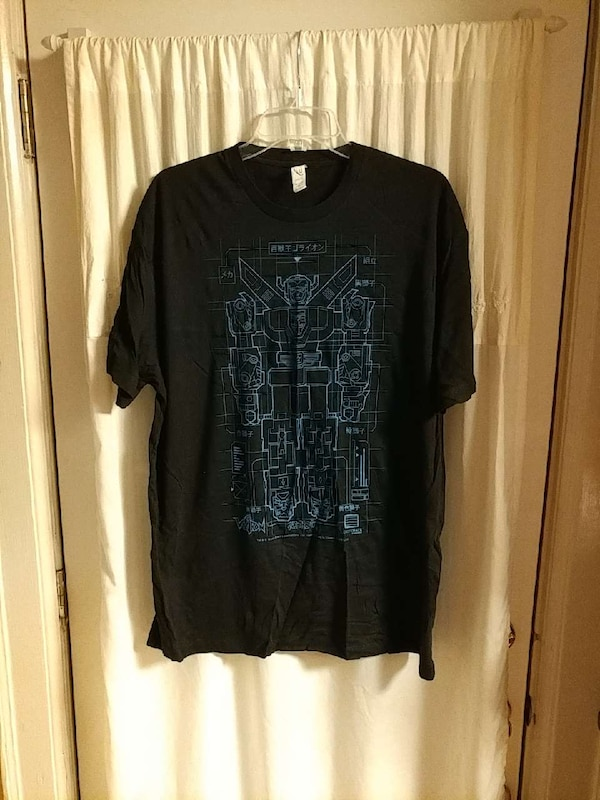e6b50d3ac6 Used Voltron blueprint t-shirt Loot Crate Exclusive for sale in Portsmouth