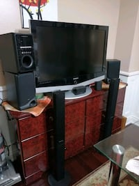 Samsung tv with home theater +7 Mississauga, L5M 4H6